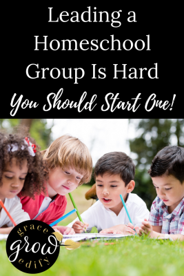 Leading a Homeschool Group is Hard, You Should Start One
