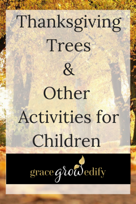 Thanksgiving Trees & Activities