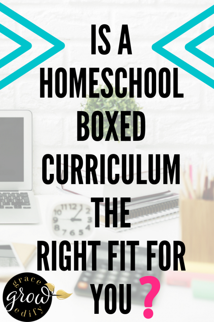 Determining if a Homeschool Boxed Curriculum is the Right Fit