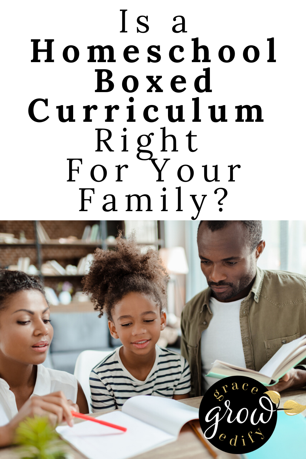 Homeschool Boxed Curriculum