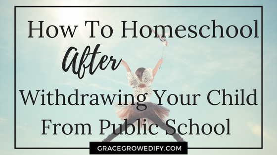 How To Homeschool After Withdrawing Your Child From Public School