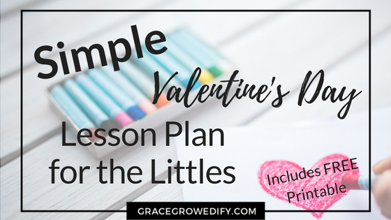 Simple Valentine Day Plan for the Littles