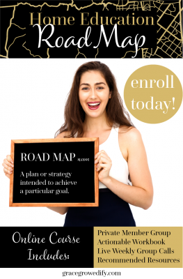 The Home Education Road Map Scholarship Giveaway