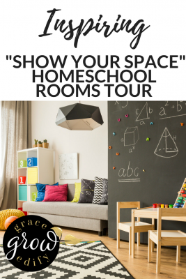 "Inspiring ""Show Your Space"" Homeschool Rooms Tour"