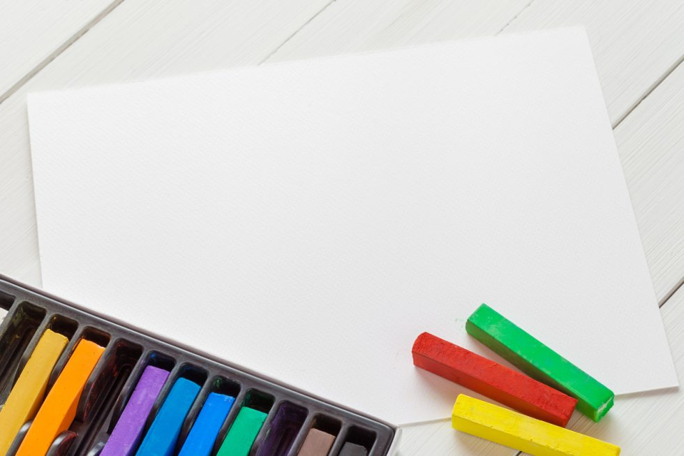 How To Organize a Homeschool Co-op Art Workshop with Chalk Pastels