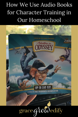 How We Use Audiobooks for Character Training in Our Homeschool