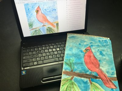 Online Art Studio for Creative Homeschool Children