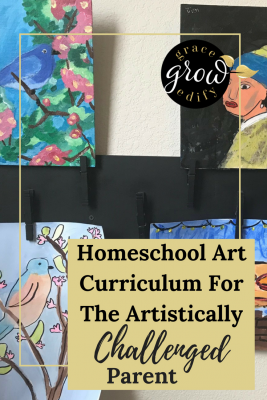 Homeschool Art Curriculum For The Artistically Challenged Parent