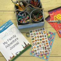 My Family Adventure Journal; Capturing Homeschool Memories