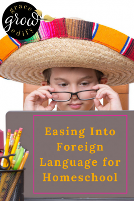 Easing Into Foreign Language for Homeschool