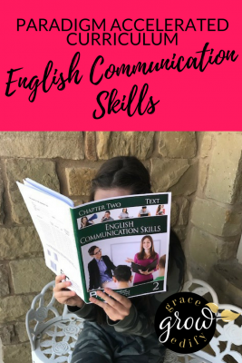 Paradigm Accelerated Curriculum • English Communication Skills