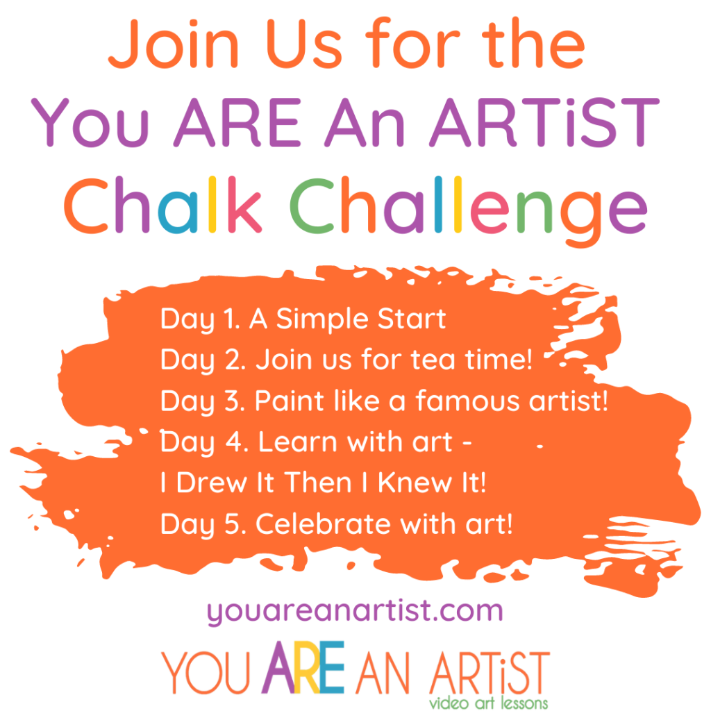 Join in on the fun for a FREE 5 day art challenge!