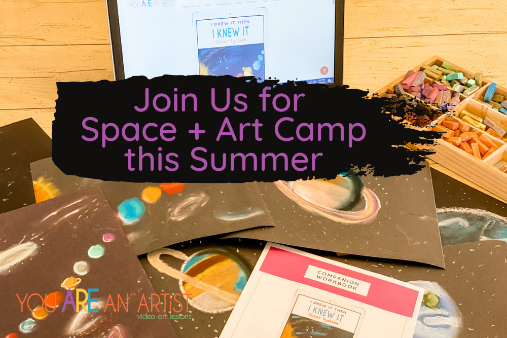 Space Art Camp at Home