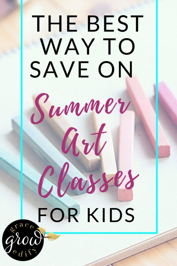 The Best Way To Save On Summer Art Classes For Kids