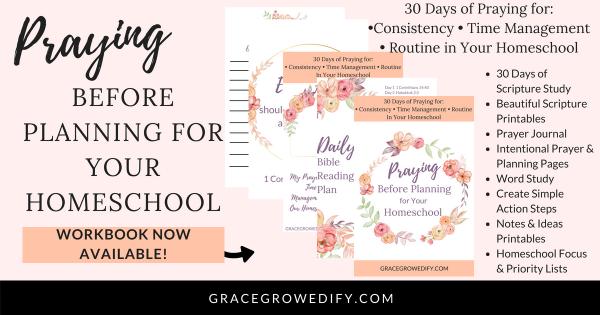 30 Days of Praying Before Planning