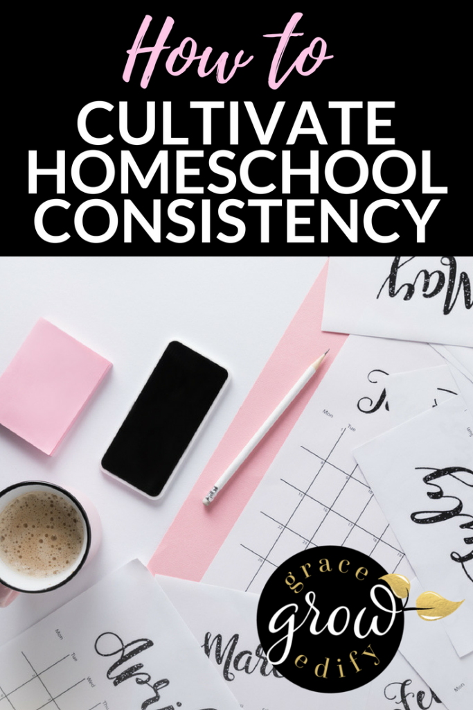 How to Cultivate Homeschool Consistency