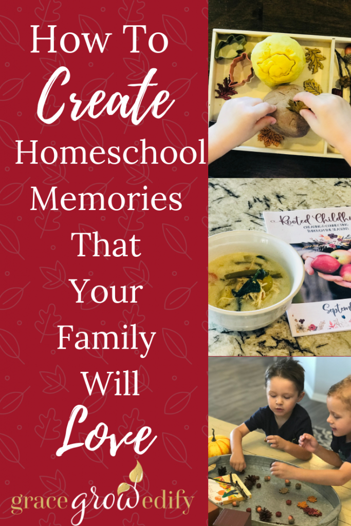 How to create homeschool memories that your family will love