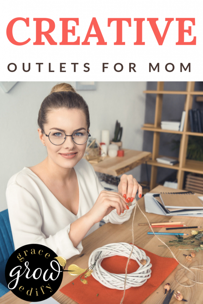 creative outlets for mom