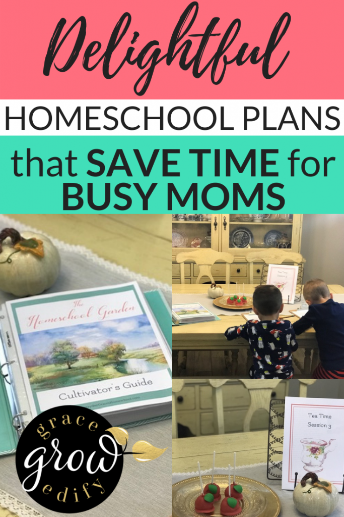 Delightful Homeschool Plans that Will Save Time for Busy Moms