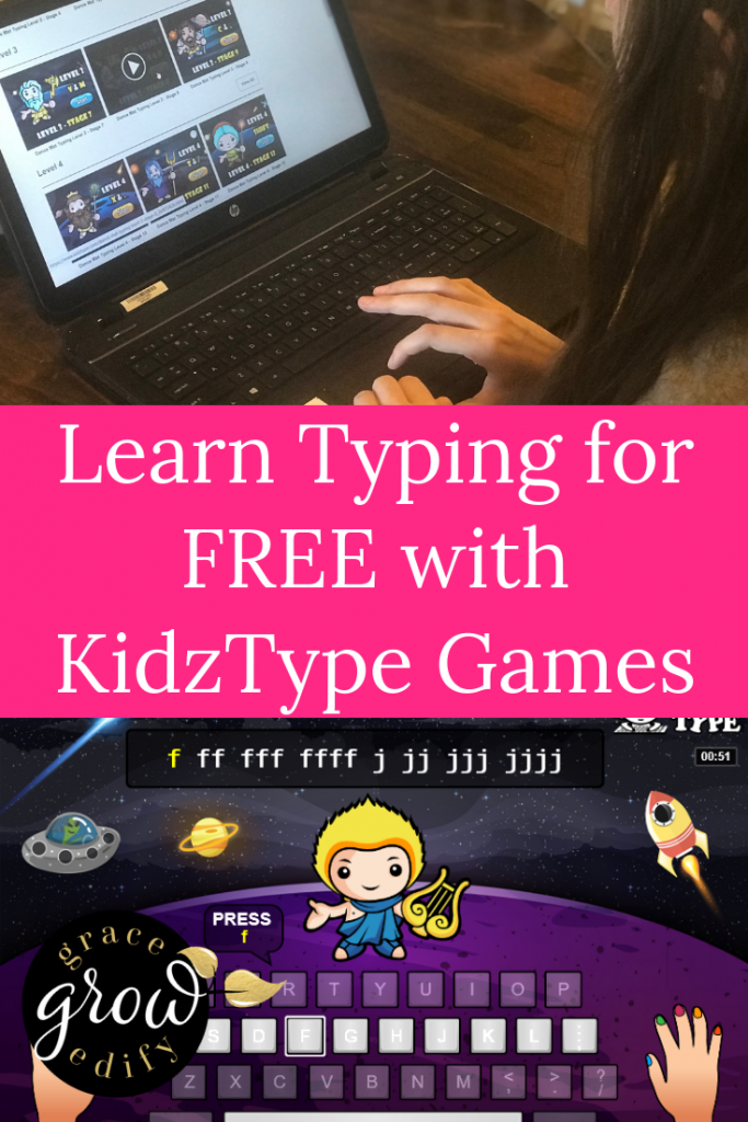Typing for Free with KidzType Games