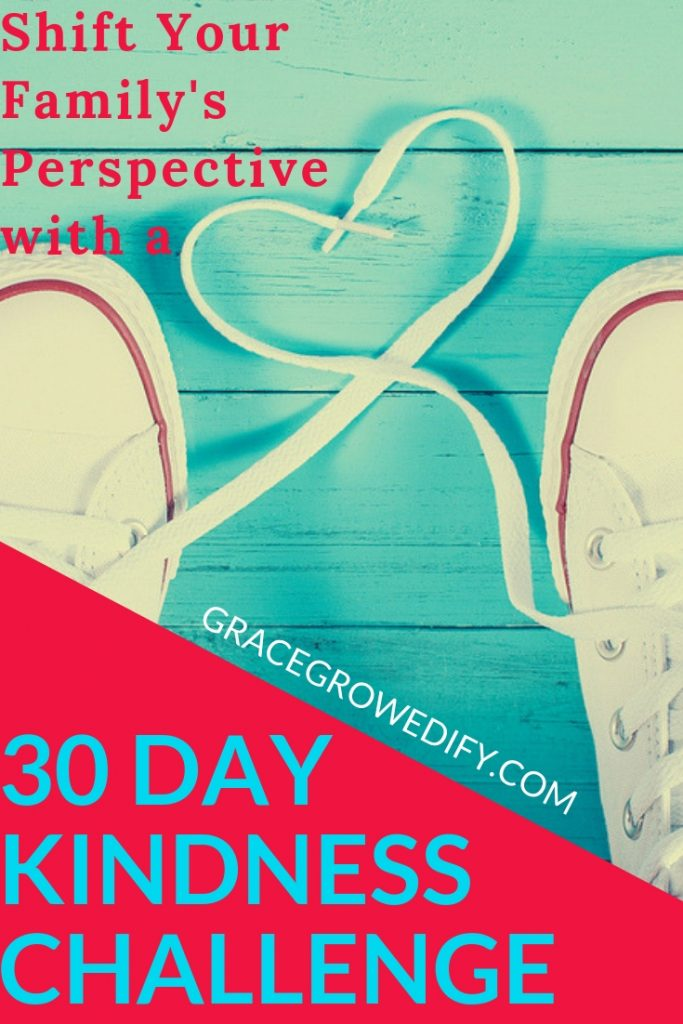 Shift Your Family's Perspective with a 30 Day Kindness Challenge