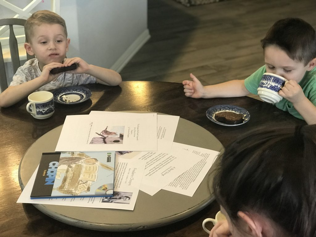 poetry tea time preschoolers
