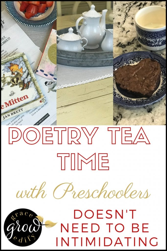 poetry tea time with preschoolers