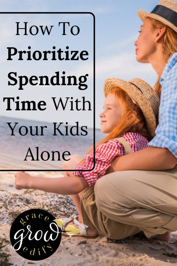 spending time with kids