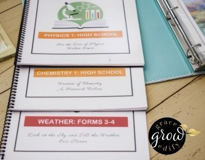 Behind the Scenes Revealing Our 9th Grade Homeschool Curriculum