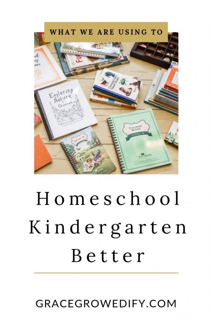 Homeschool Kindergarten