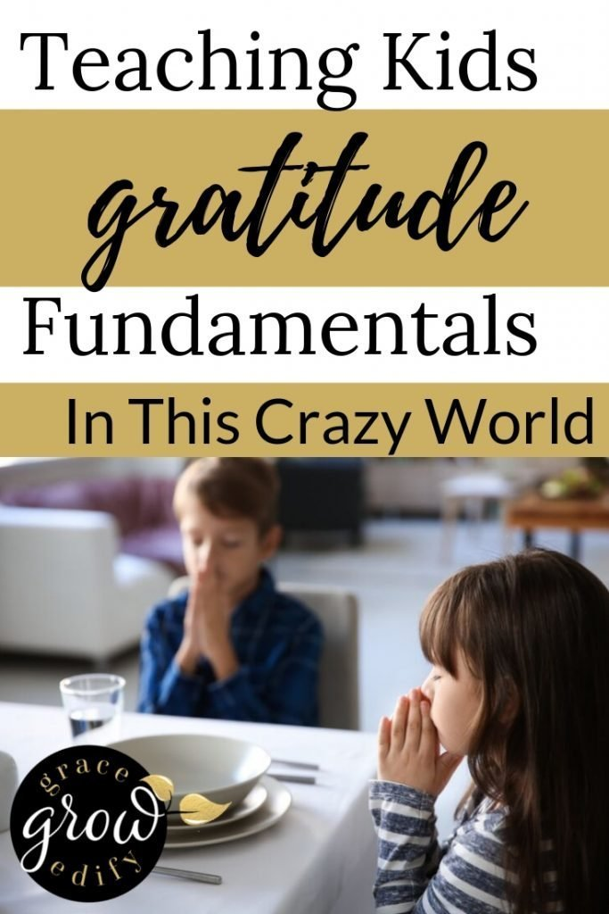 Teaching Kids Gratitude