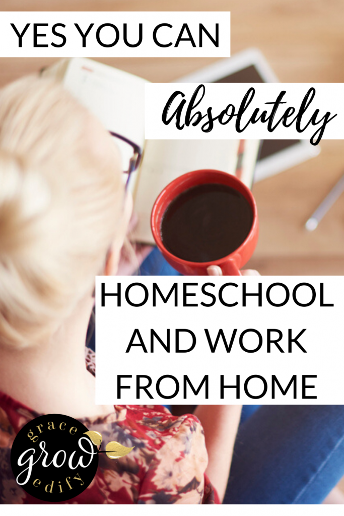 Homeschool And Work From Home
