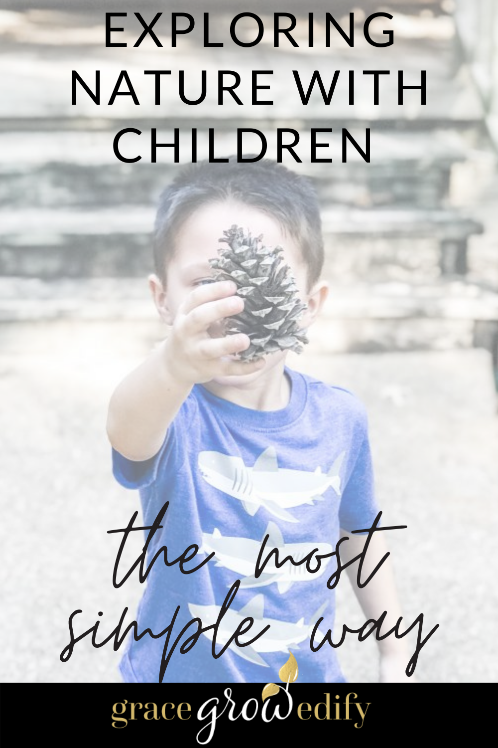 Exploring Nature with Children really can be simple and fun! See how easy it is to implement nature studies into your homeschool day. #nature #naturestudy #naturestudyforkids #homeschool #homeschooling