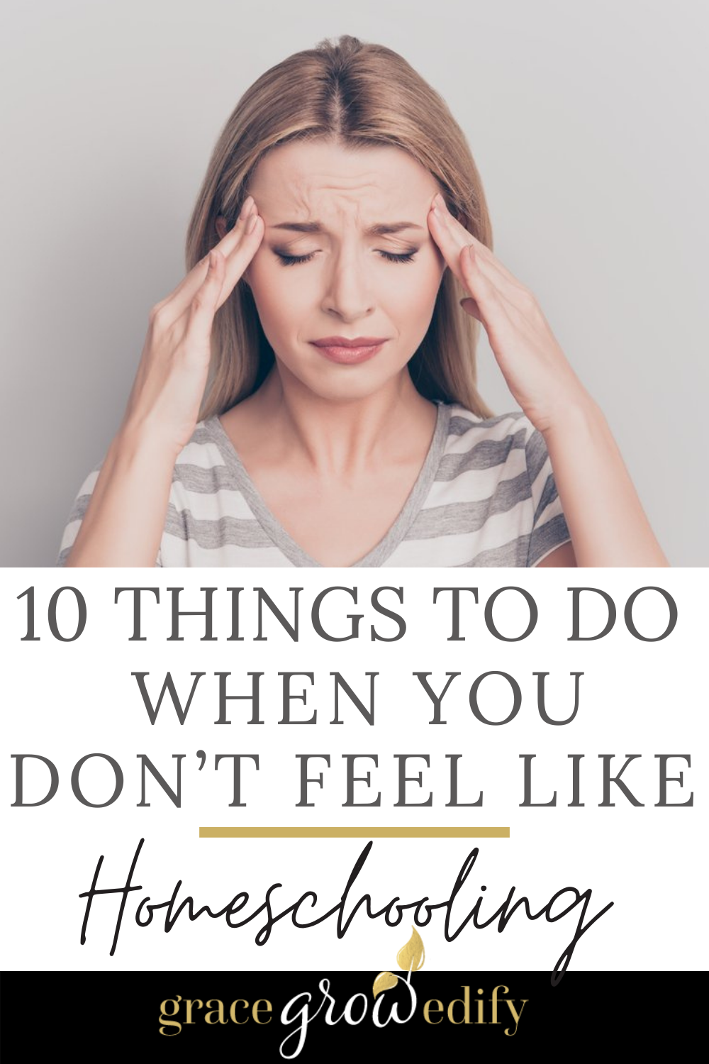 Save these 10 ideas in your homeschooling toolbox for those days when you just don't feel like it! #homeschool #homeschoolideas #relaxedhomeschooling #homeschooltips