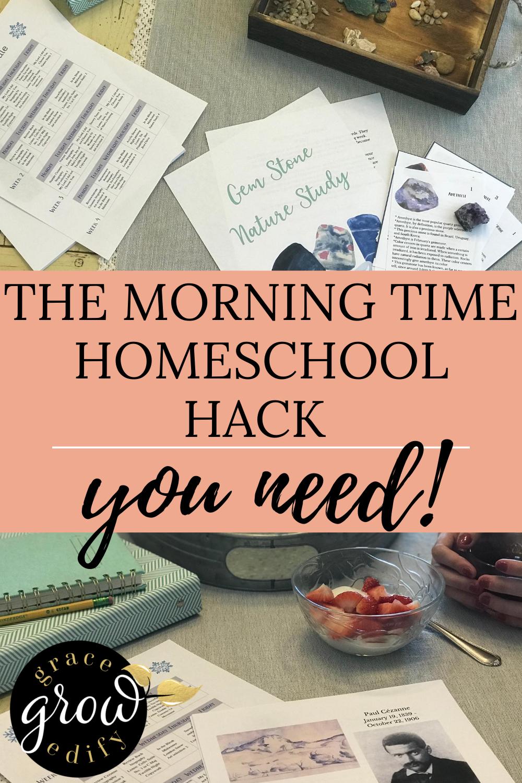 Morning Time Homeschool