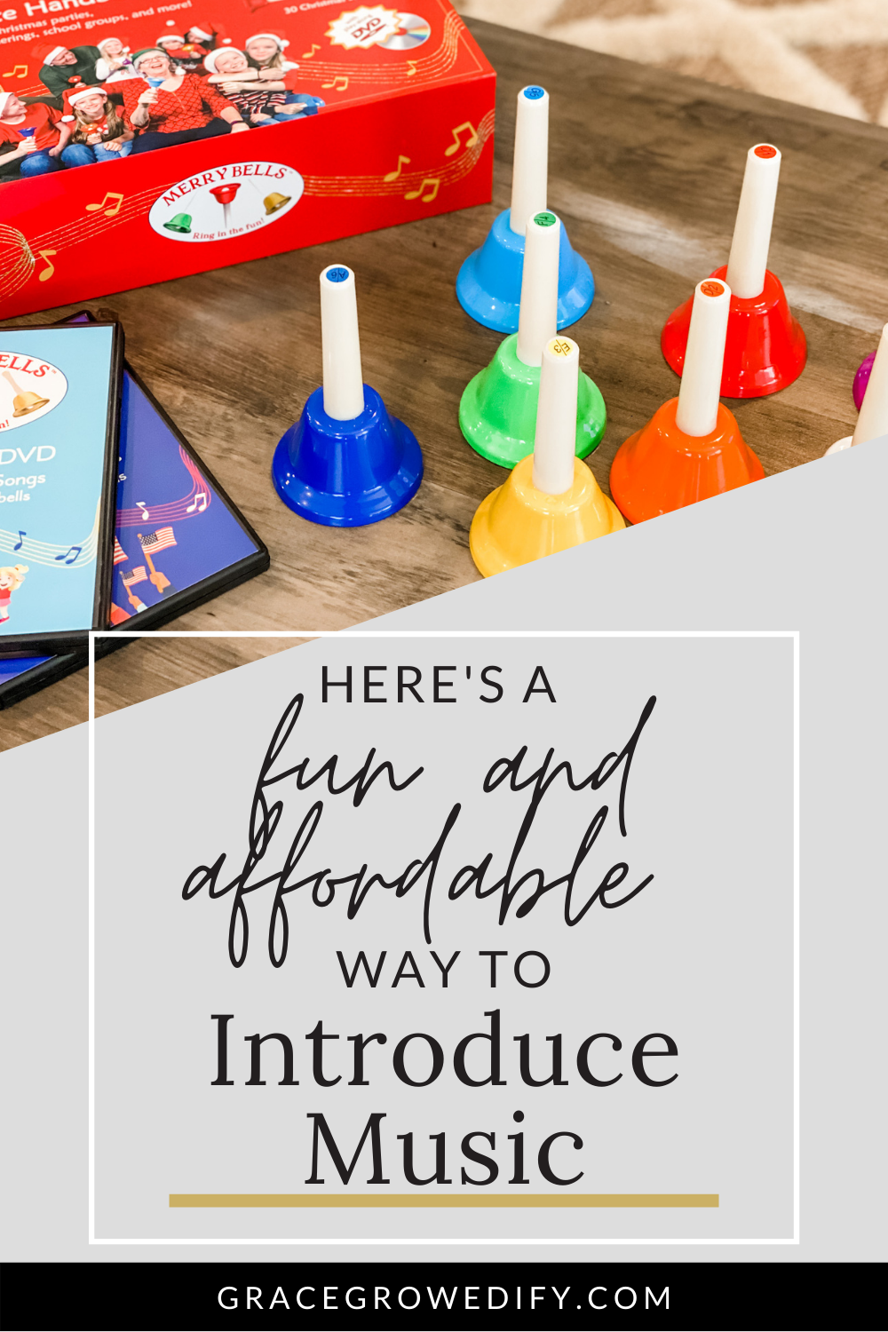 Introduce Music at Home with Children's Handbells