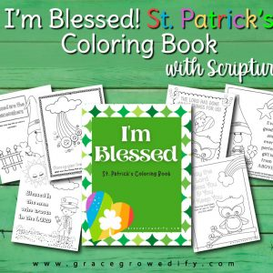 I'm Blessed Coloring Book