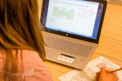 The Best Online Homeschool Geometry Curriculum for Homeschooling High School #homeschool #homeschoolmath #highschoolcurriculum #mathcurriculum #highschool #homeschoolcurriculum #geometry