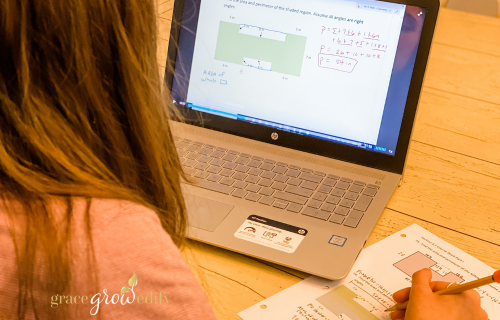 The Best Online Homeschool Geometry Curriculum for Homeschooling High School #homeschool #homeschoolmath #highschoolcurriculum #mathcurriculum #highschool #homeschoolcurriculum #geometry