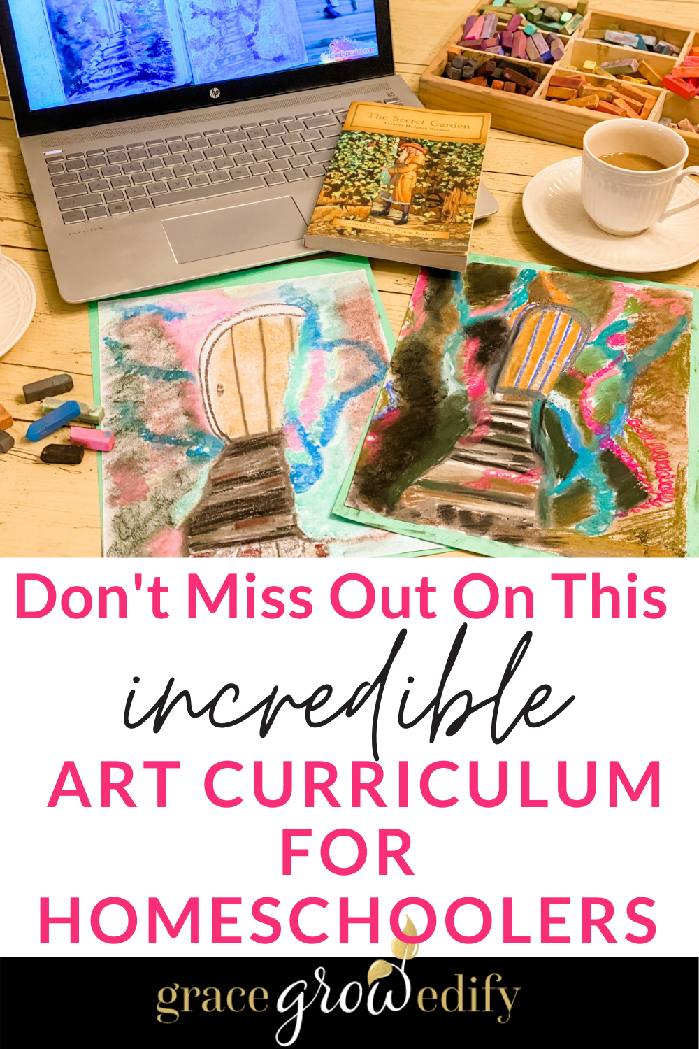 THIS is THE art curriculum that your homeschool is missing! You can learn and be creative at the same time and your kids will LOVE it! #homeschooling #homeschool #artcurriculum #artforkids #homeschooling #artclassesonline #homeschoolart
